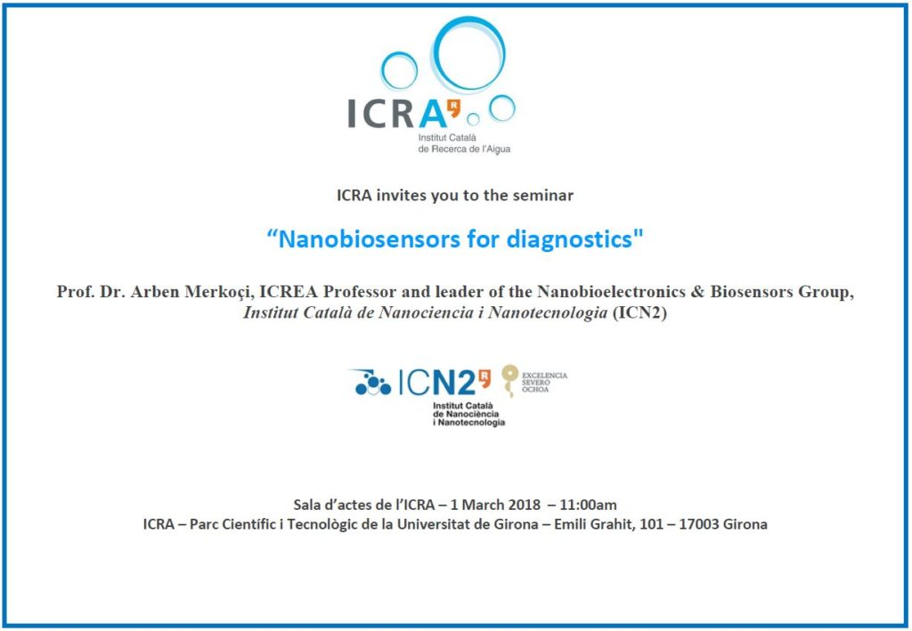 sminari ICRA Nanobiosensors