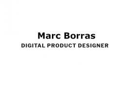 Marc Borràs Digital Product Designer
