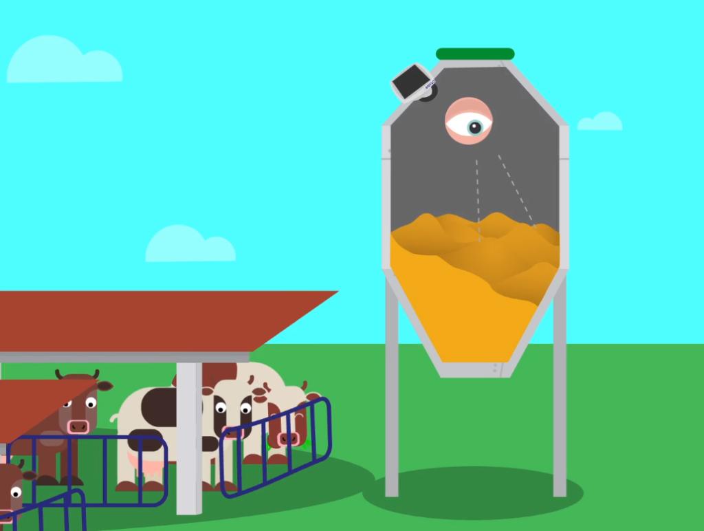 El dispositiu que permet controlar remotament les existències de les explotacions agrícoles